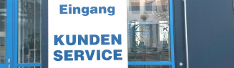 Eingang Kundenservice, Copyright: SWS
